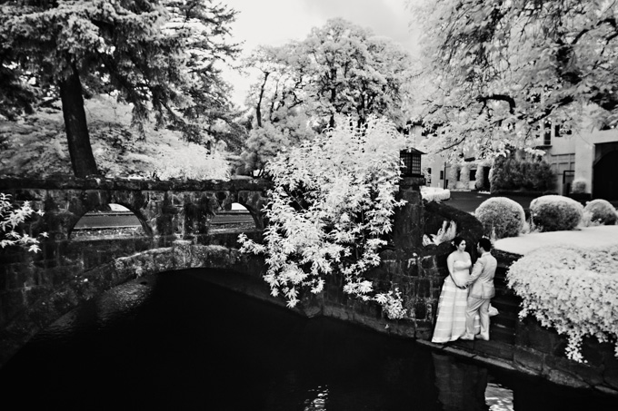 Infrared Wedding Photo