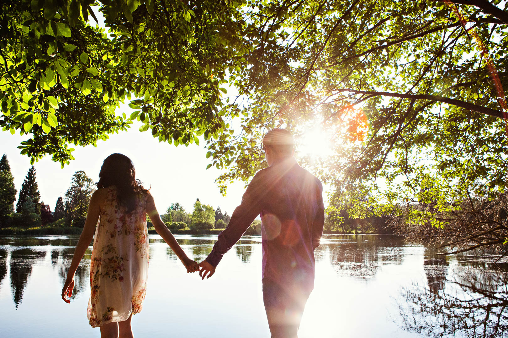 Beautiful Environments for Engagement Photography